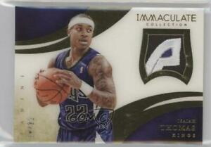2013-14 Panini Immaculate Jersey Number Variation /22 Isaiah Thomas #46 Patch