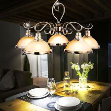 Luxus Pendel Decken Hänge Kron Leuchter Lüster Ess Zimmer Messing amber Lampe