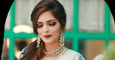 Kundan Choker Necklace Set Gold Plated Bollywood Bridal Indian Pearl Jewelry Set