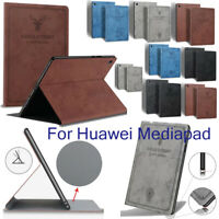 "For Huawei MediaPad M3 Lite M5 8"" 10.8"" 8.4"" 10"" Tablet Smart Leather Case Cover"