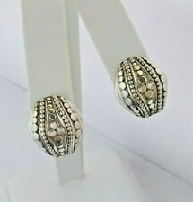 John Hardy Sterling Silver Jaisalmer Dot French Clip Post Earrings