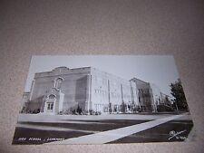 1940s HIGH SCHOOL LONGMONT COLORADO REAL-PHOTO RPPC POSTCARD