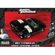 Fast and Furious Doms Plymouth GTX 1 25 Scale Model Kit Revell 07692