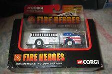 Great 2002 CORGI FIRE HEROES STARS & STRIPES Fire Truck mint in original box