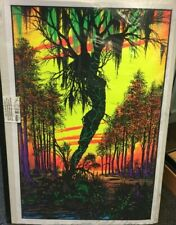 SWAMP MIRAGE - BLACKLIGHT POSTER 55 X 85 cm