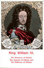 Political Irish. King William III. Preserver of Britain. Derry, Aughrim & Boyne.