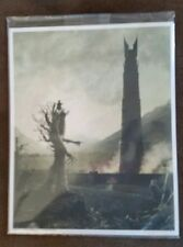 Loot Crate August 2017 Lord of the Rings Exclusive Art Print Free Shipping