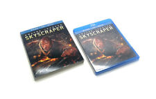 Skyscraper Blu-ray, Dvd, & Digital 2-Disc Set w/ Slipcover Brand New & Sealed