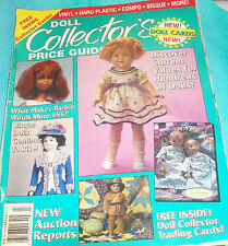 DOLL COLLECTOR'S PRICE GUIDE Autumn 1992, Shirley Temple, Barbie, Celluloid,