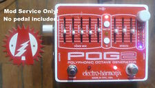 Upgrade Modify Your Electro-Harmonix Pog 2 Octave Guitar Effects Pedal