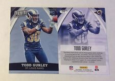 2015 Panini National TODD GURLEY RC #38 Rams Version VIP Party Gold Packs