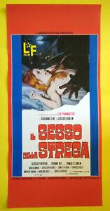 Locandina Cinematografica(Riproduzione)Film IL SESSO DELLA STREGA no dvd vhs lp