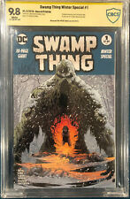 SWAMP THING WINTER SPECIAL #1 CBCS 9.8 KELLEY JONES SIGNED Comic CGC 2ND PRINT