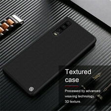 For Huawei P30 Pro NILLKIN Nylon Carbon Fiber Matte Slim Hard Back Case Cover