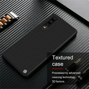 For Huawei P30 Pro NILLKIN Nylon Carbon Fiber Matte Slim Hard Back Case Cover