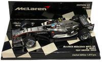 Minichamps McLaren MP4-20 2005 Test Driver - Alexander Wurz 1/43 Scale