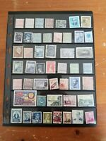 Turkey - Ottoman Empire - Stamp Collection - Mostly Used & Classics 2 Scans- W54