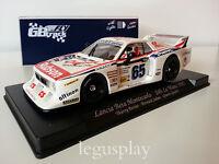 Slot car SCX Scalextric Fly 07001 Lancia Beta Montecarlo 24H Le Mans 1982 GB39