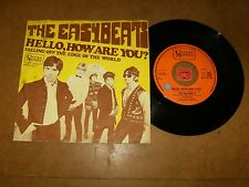 THE EASYBEATS - HELLO HOW ARE YOU - FALLING OFF THE EDGE - 45 PS / LISTEN - POP