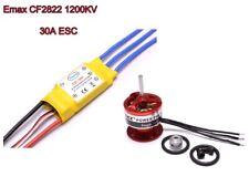 CF2822 1200KV Brushless Mototor 30A ESC Speed Controller EMAX Airplane FPV M04F