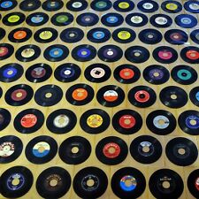 100 Vinyl-Singles + 100 transparente Schutzhüllen Paket Sammlung Musik-Juke-Box
