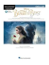 Disney Beauty And The Beast Cello Learn to Play Film Songs Tunes MUSIC BOOK