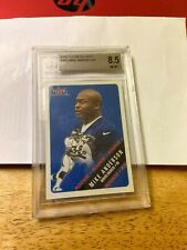 2002 FLEER GLOSSY#402 MIKE ANDERSON GRADED A 8.5 ROOKIE CARD
