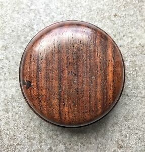 An Antique Chinese Huanghuali  Seal Paste Box