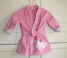 Carters Pink Robe with Baby Whale Size 0-9 Months