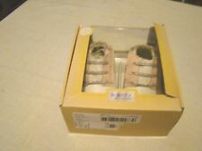 ROBEEZ NEW 18-24 Month Girls WHITE/PINK OLIVIA LEATHER UPPERS NIP TWINS