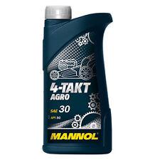 4-Takt Öl AGRO Rasenmäheröl SAE30 Viertakt Öl Viertaktöl Rasenmäher Traktor 1 L.