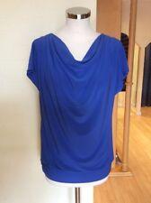Bianca Top Size 10 BNWT Blue Draped Neckline RRP £54.95 Now £25