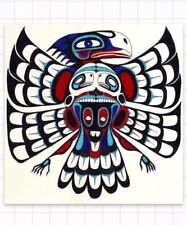 "Native American Thunderbird Legend Tribal Art 2"" Sticker Tribe Southwest Lore"
