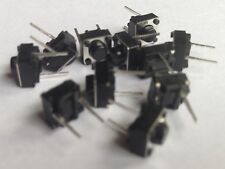 25 Pieces 2pins Tactile Push Button Switch Tact Switch 6X6X5mm Momentary USA SLR
