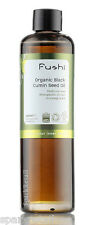 Fushi Cold Pressed 100% Pure Organic BLACK CUMIN SEED OIL 100ml Omega 6 & 9