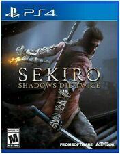 PLAYSTATION 4 SEKIRO SHADOWS DIE TWICE BRAND NEW PS4 VIDEO GAME