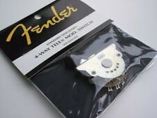 Genuine FENDER CUSTOM SHOP 4-Way TELECASTER MOD SWITCH Tele Strat NEW