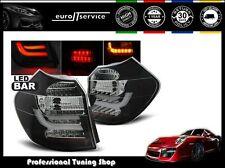 FEUX ARRIERE ENSEMBLE LDBM85 BMW E87 E81 2004 2005 2006 2007 NOIR LED BAR