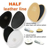 Shoes HALF INSOLE - Ladies and Men LEATHER INSOLES - Black, White & Natural