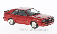 wonderful modelcar AUDI Sport Quattro 1984 - r e d  - 1/43 - lim.ed.