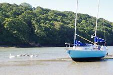 Hunter Liberty sailing boat.