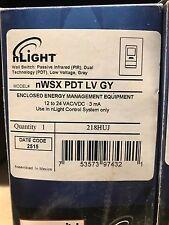 Sensor Switch nLight nWsx Pdt Lv Gy Occupancy Wall Switch * Nib, Free Ship *