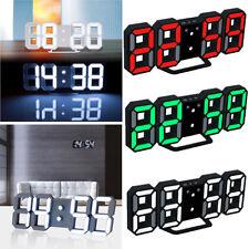Horloge murale moderne à horloge murale 3D LED Horloge murale numérique