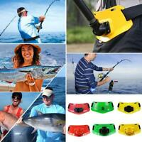 Boat Fishing Fighting Belt Adjustable Waist Stand Up Holder Rod Pole Gimbal O6R6