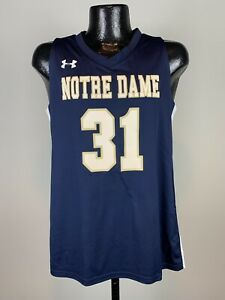 Men's Under Armour Notre Dame Fighting Irish Reversible Basketball Jersey S NWT