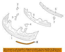 KIA OEM 04-06 Amanti-Bumper Trim-Molding Trim Left 865713F051