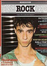 REVUE : ROCK en stock n° 58 + Poster JOHNNY HALLYDAY who telephone dutronc