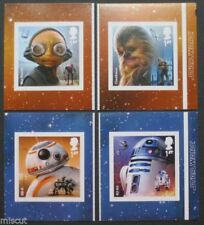Star Wars Great Britain Barcode Stamp Booklets (1987-Now)