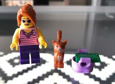 New Lego Girl With Cat And Accessories Split From Lego Juniors A  Set: 10684