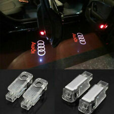 2pcs For Audi LED Light Logo Projector Emblem Ghost Shadow Lights Door Lights -